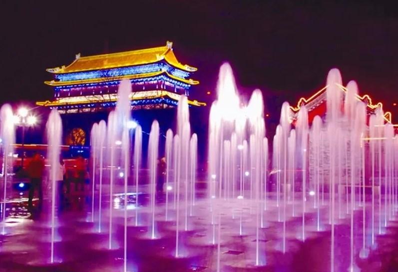 Air mancur dry fountain