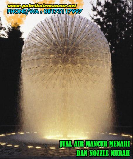 Hasil pengaplikasian nozzle crystall ball berkualitas