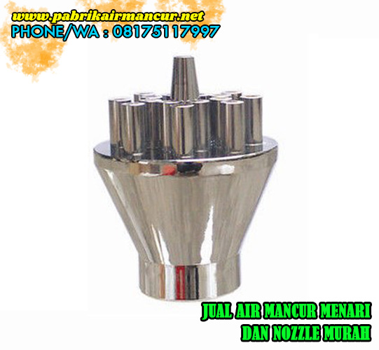 Jual nozzle concentrating Shooting nozzle stainless steel berbagai ukuran