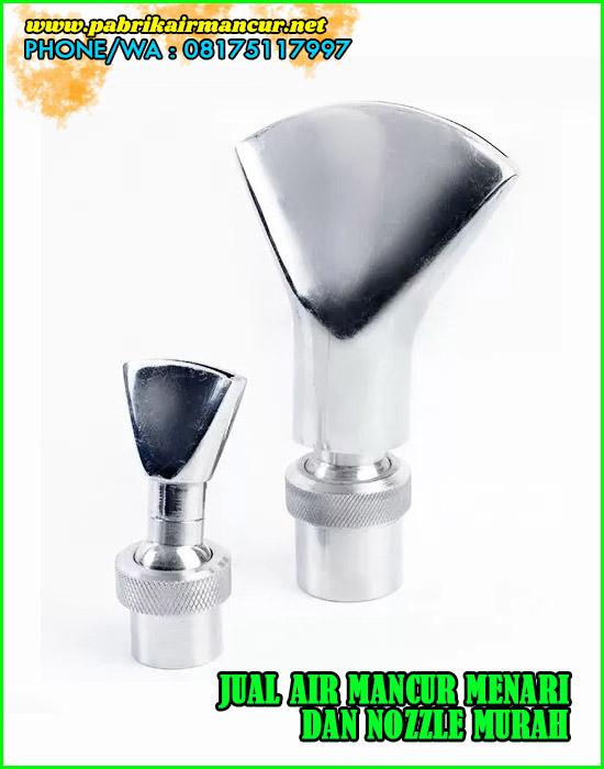 Nozzle kipas stainless air mancur murah berkualitas anti karat