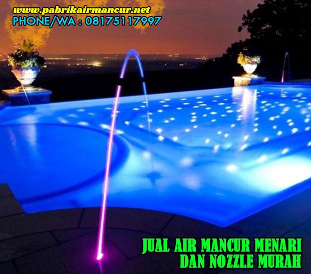 Nozzle laminar jet stainless saat digunakan