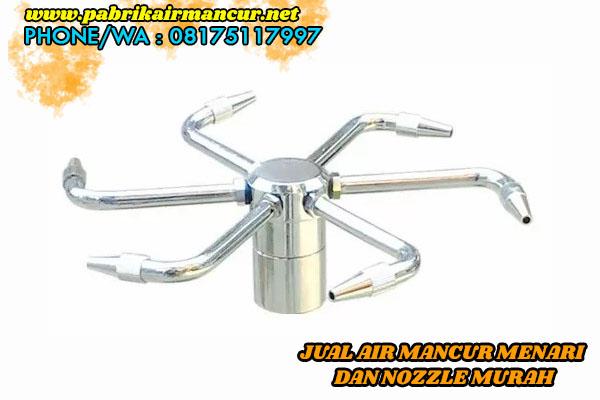 Suplier Nozzle Rotating air mancur menari berkualitas